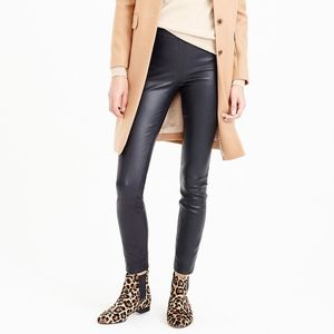J. Crew Collection Leather Leggings